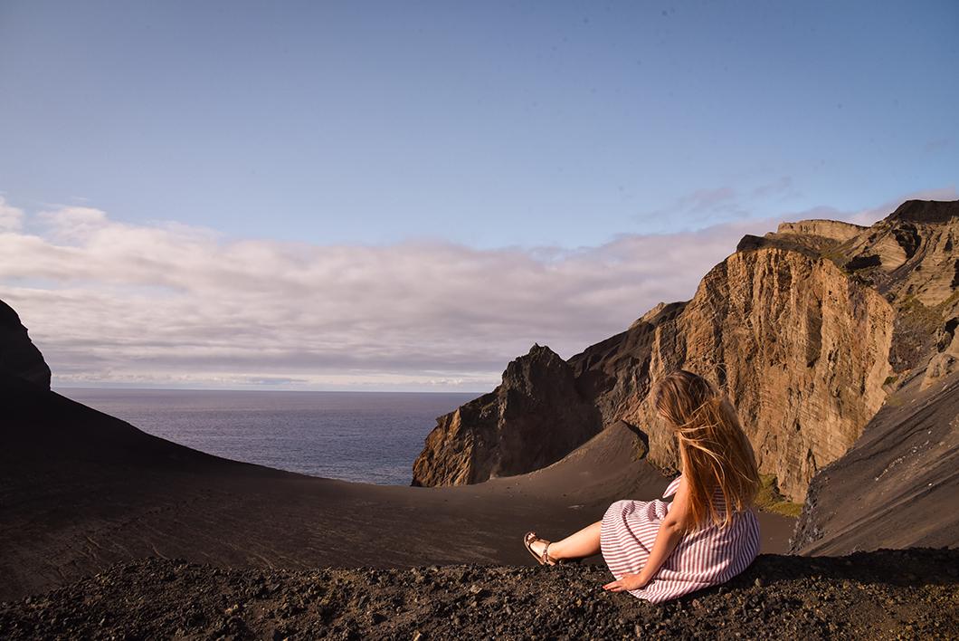 Capelinhos, meilleur endroit pour voir le coucher de soleil sur l'île de Faial