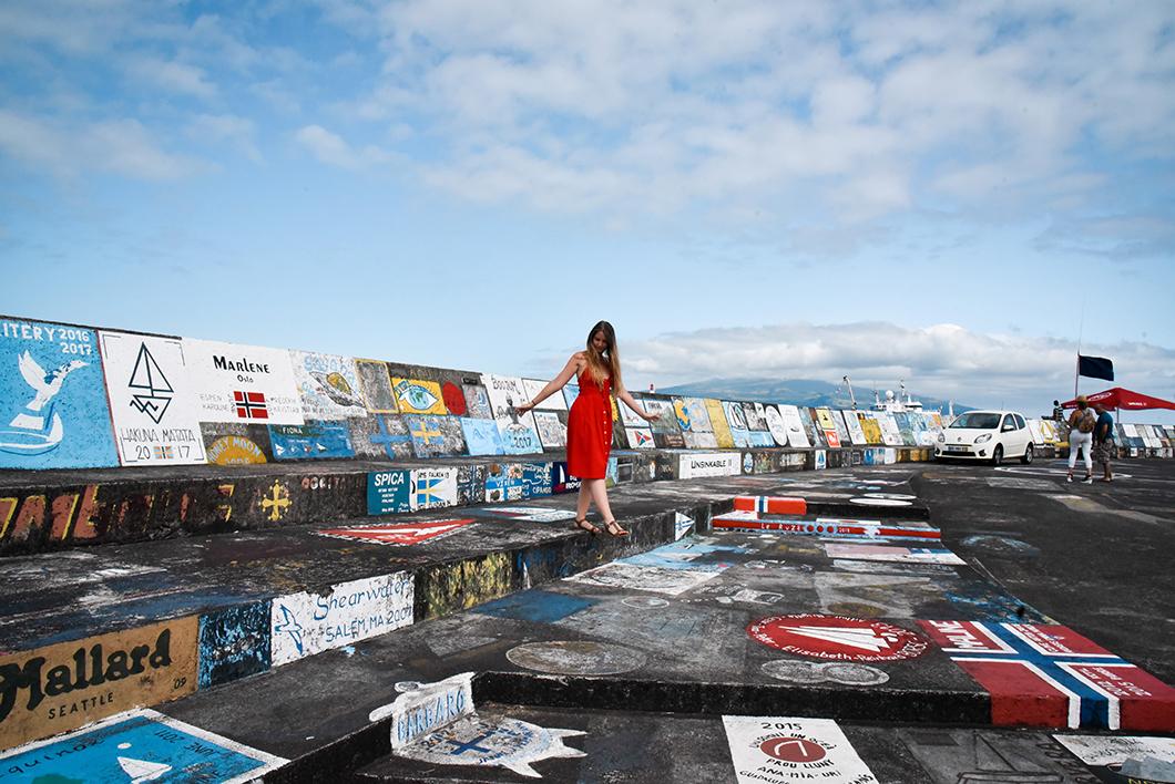 Que visiter à Horta ? Aller à la Marina de l'île de Faial
