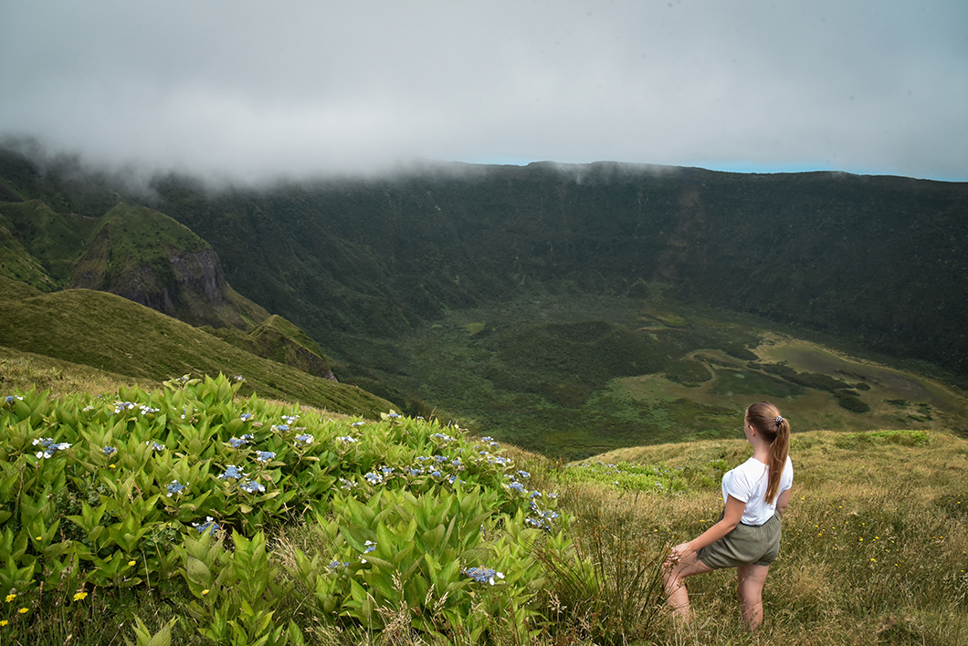 Points de vue à la Caldeira dans les Açores