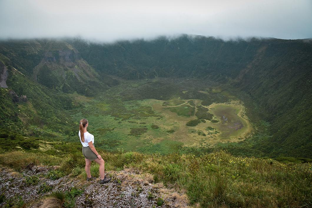 La Caldeira, randonnée incontournable sur l'île de Faial dans les Açores