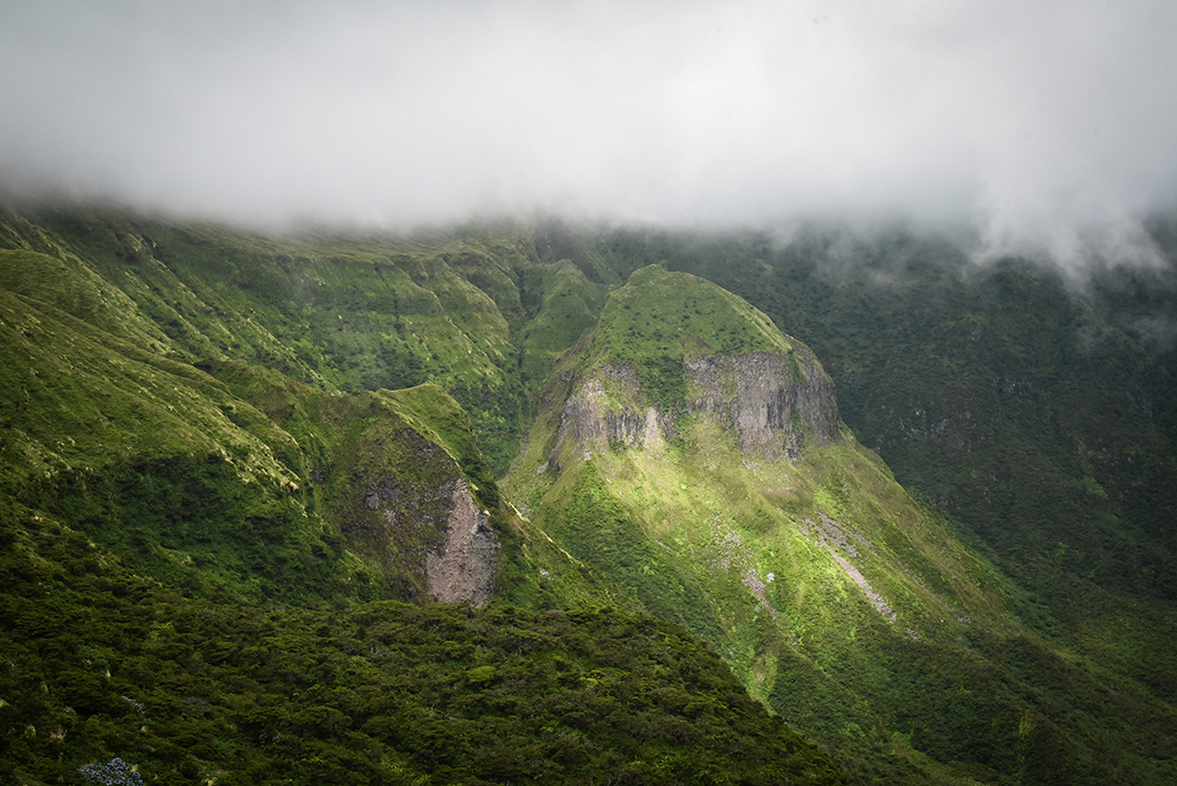 La caldeira et ses beaux point de vue à Faial