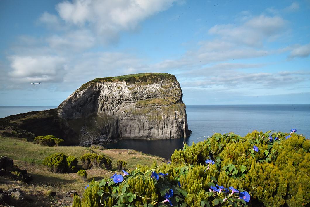 Balade au Morro de Castelo Branco à Faial dans les Açores