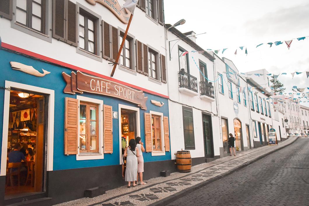 Balade à Horta sur l'île de Faial dans les Acores au Portugal