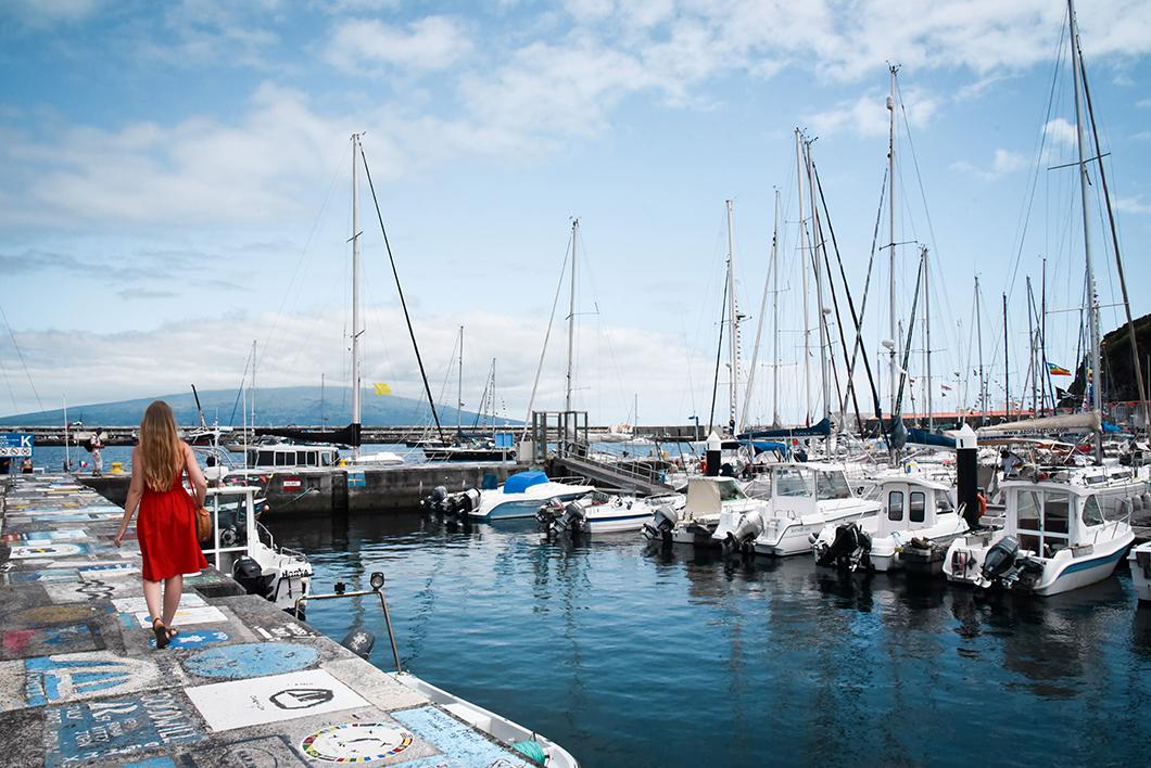 Découvrir le port de Horta