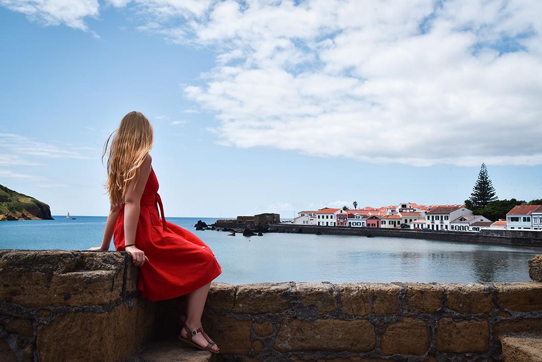 Activités dans les Açores, visite de Faial