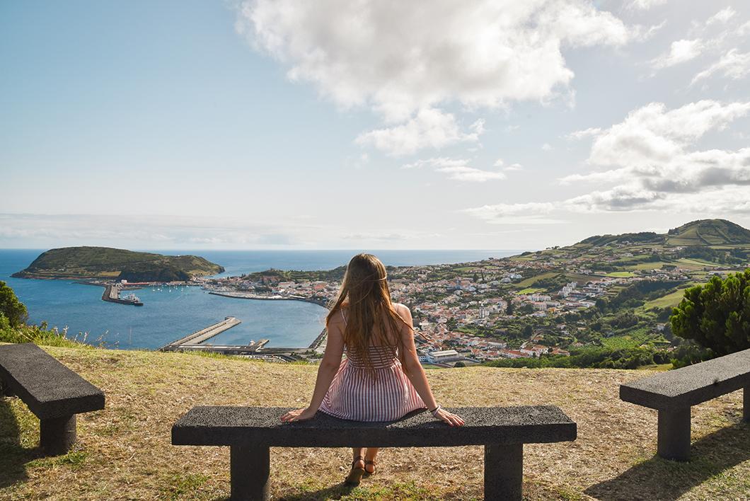 Miradouro de Nossa Senhora da Conceição, l'un des plus beau point de vue à Faial