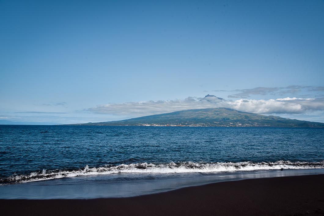Praia de Almoxarife, top des plages dans les Açores au Portugal