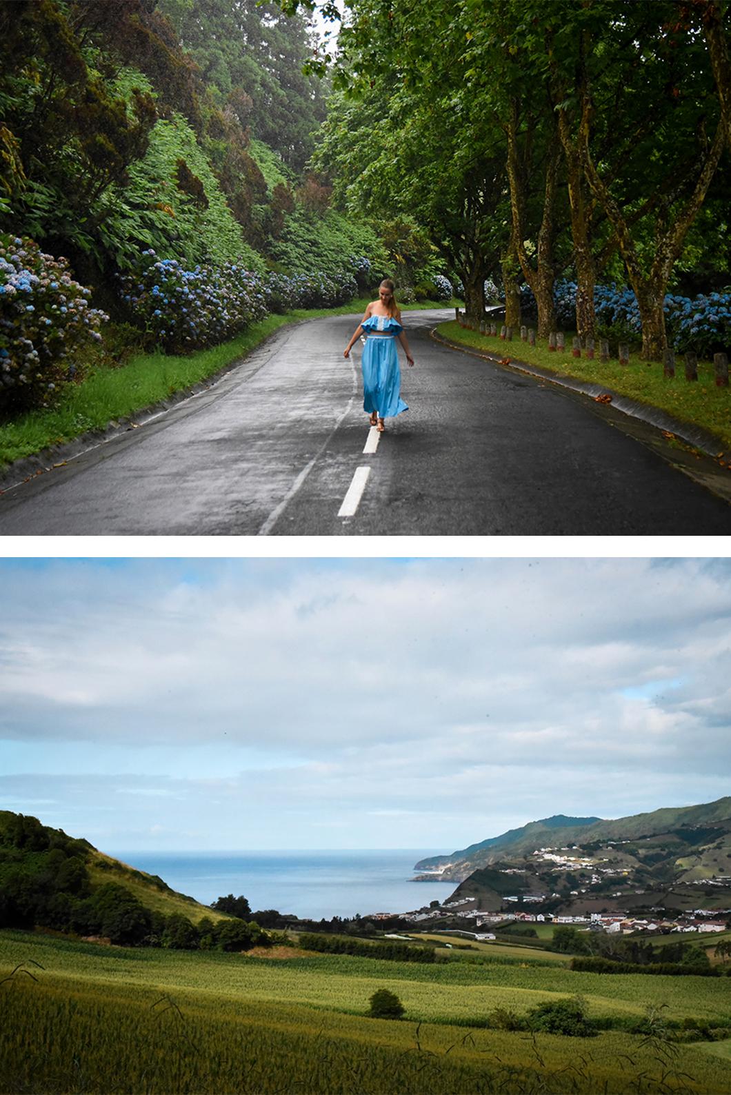Itinéraire à Sao Miguel dans les Açores