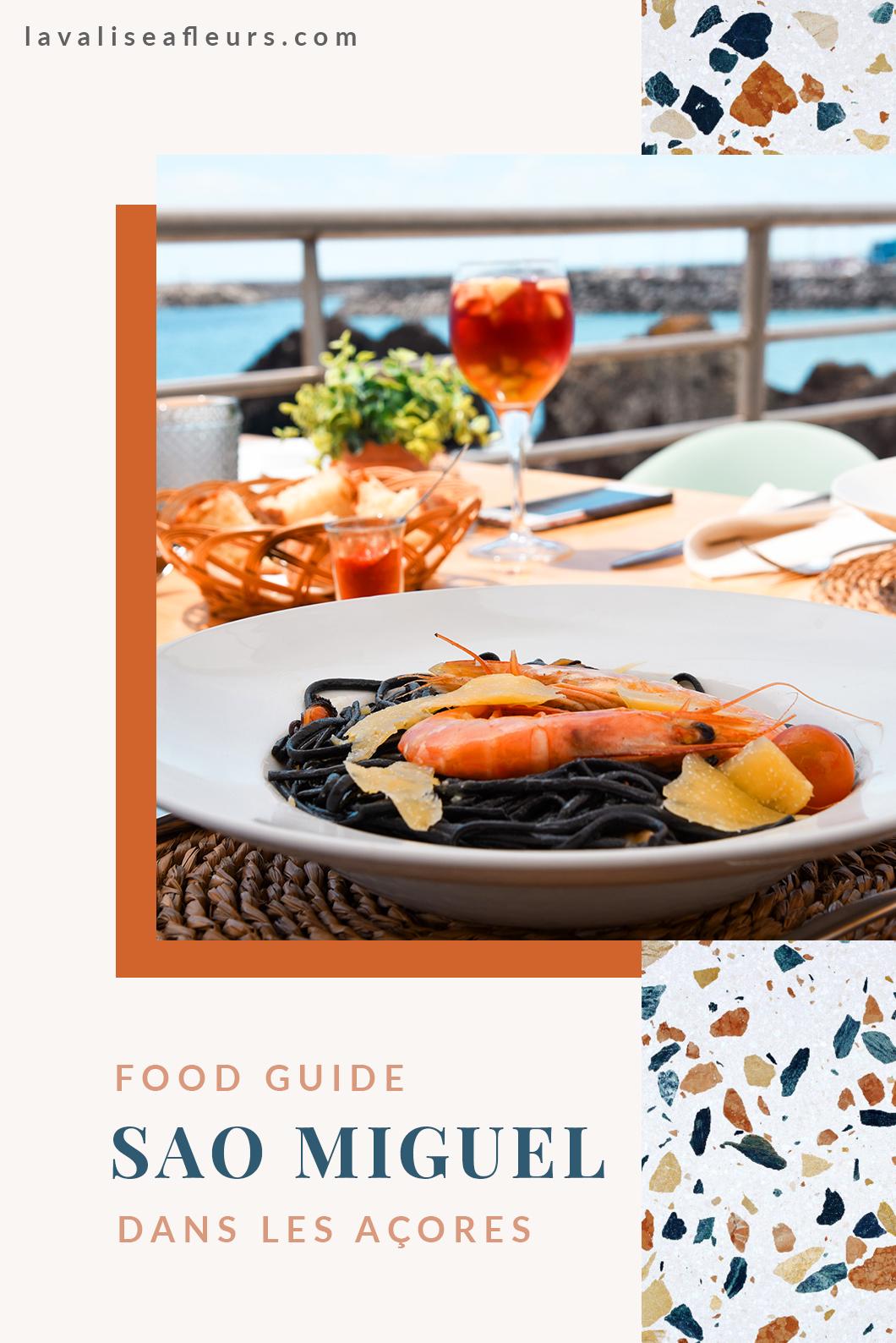 Food guide de Sao Miguel dans les Açores