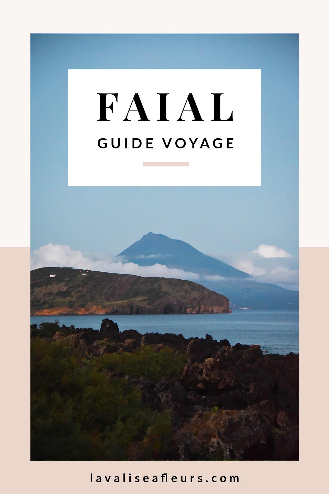 Guide voyage de Faial