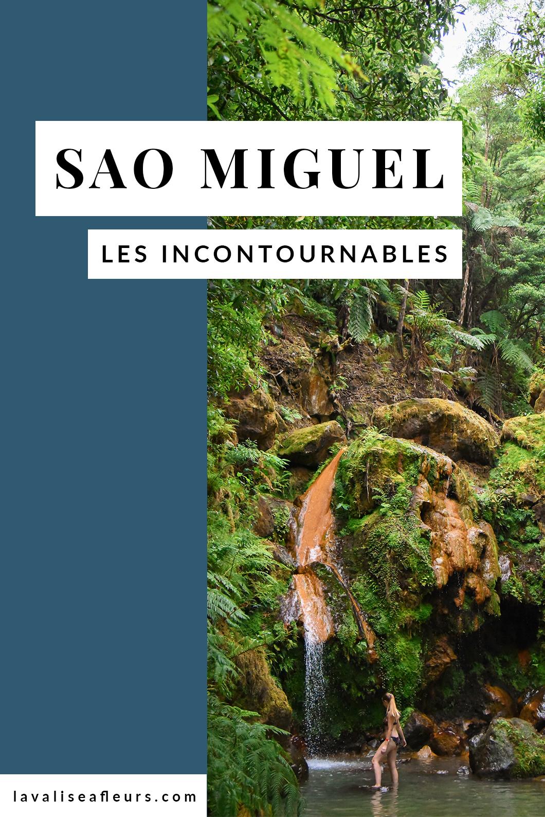Incontournables à Sao Miguel