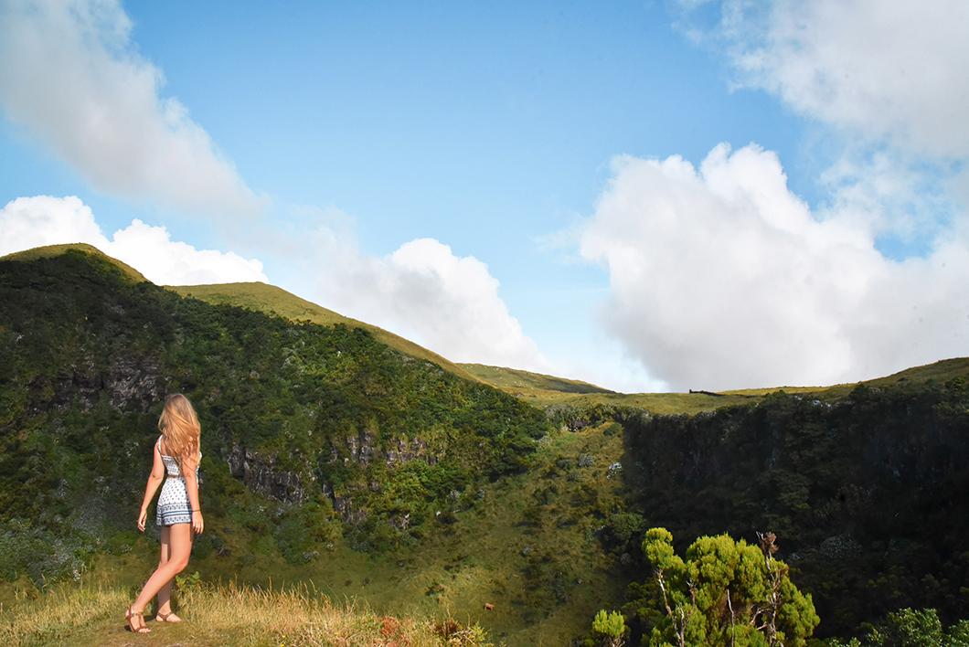 Randonnée dans la Caldeira de Pico dans les Açores