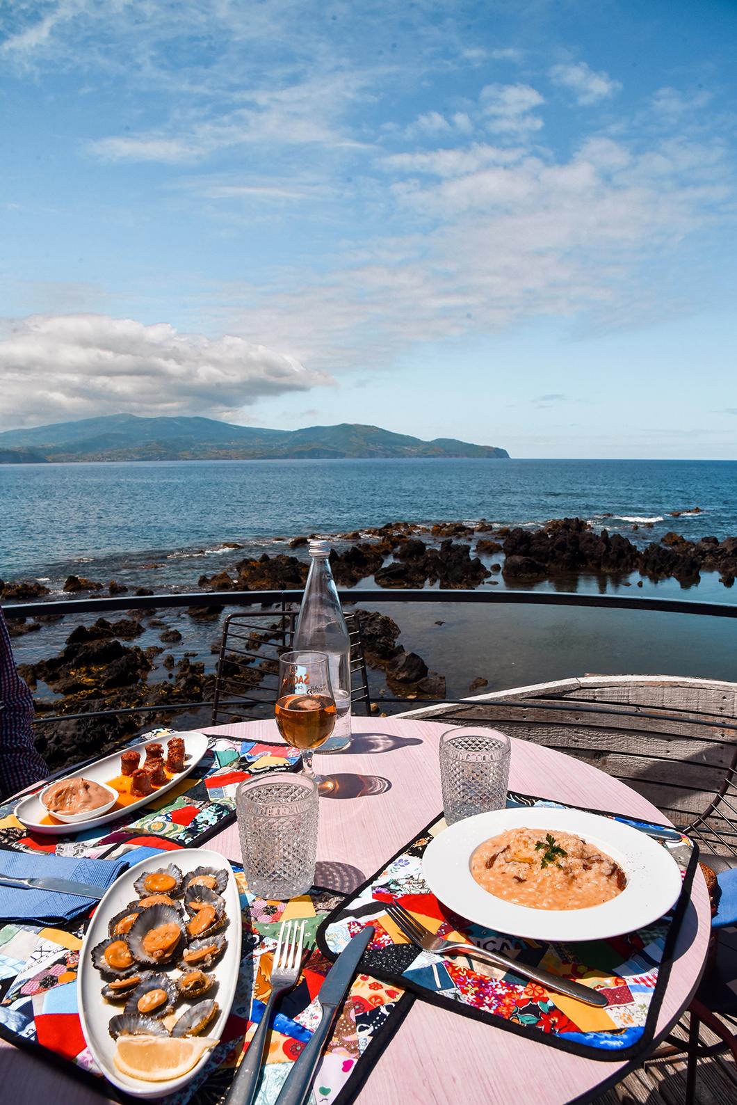 Plats typiques des Açores au Cella Bar