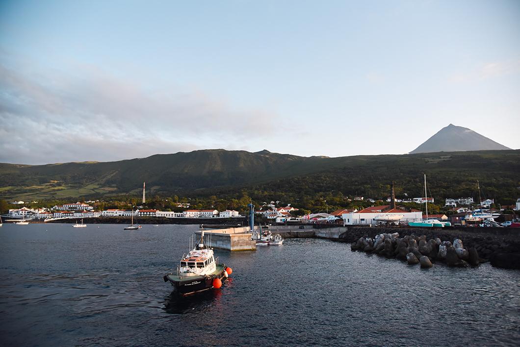 Le port de Sao Roque, visite à faire sur l'île de Pico