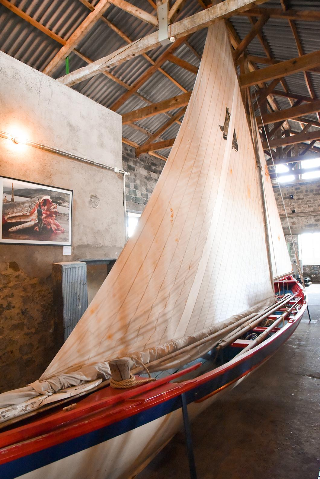 Le musée de la baleine sur l'île de Pico dans les Açores