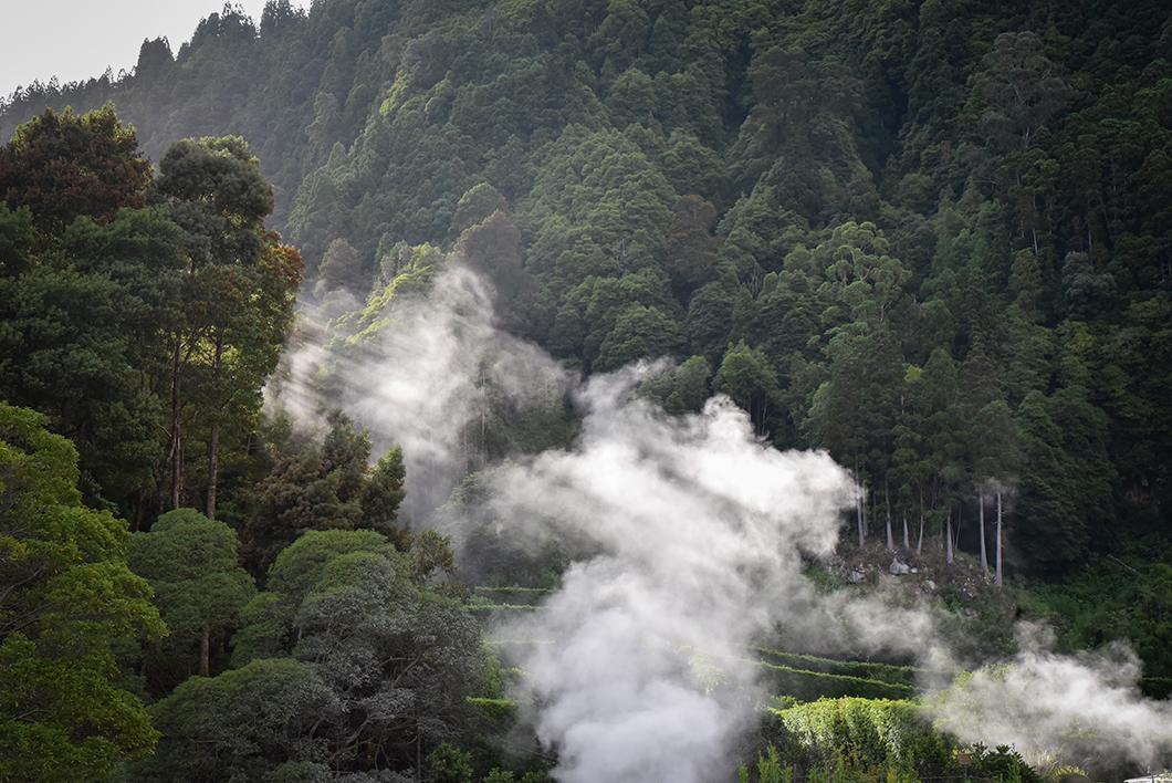 Que faire dans les Açores ? Balade dans les fumeroles de Furnas