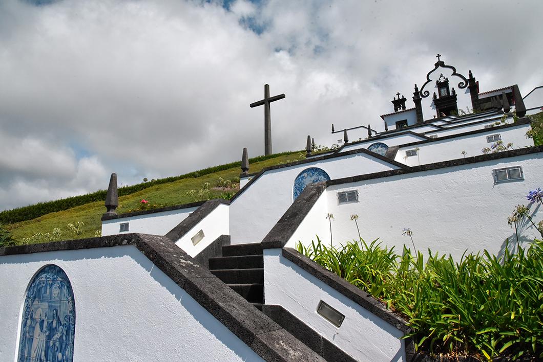 Admirer la Nossa Senhora da Paz à Vila Franca do Campo
