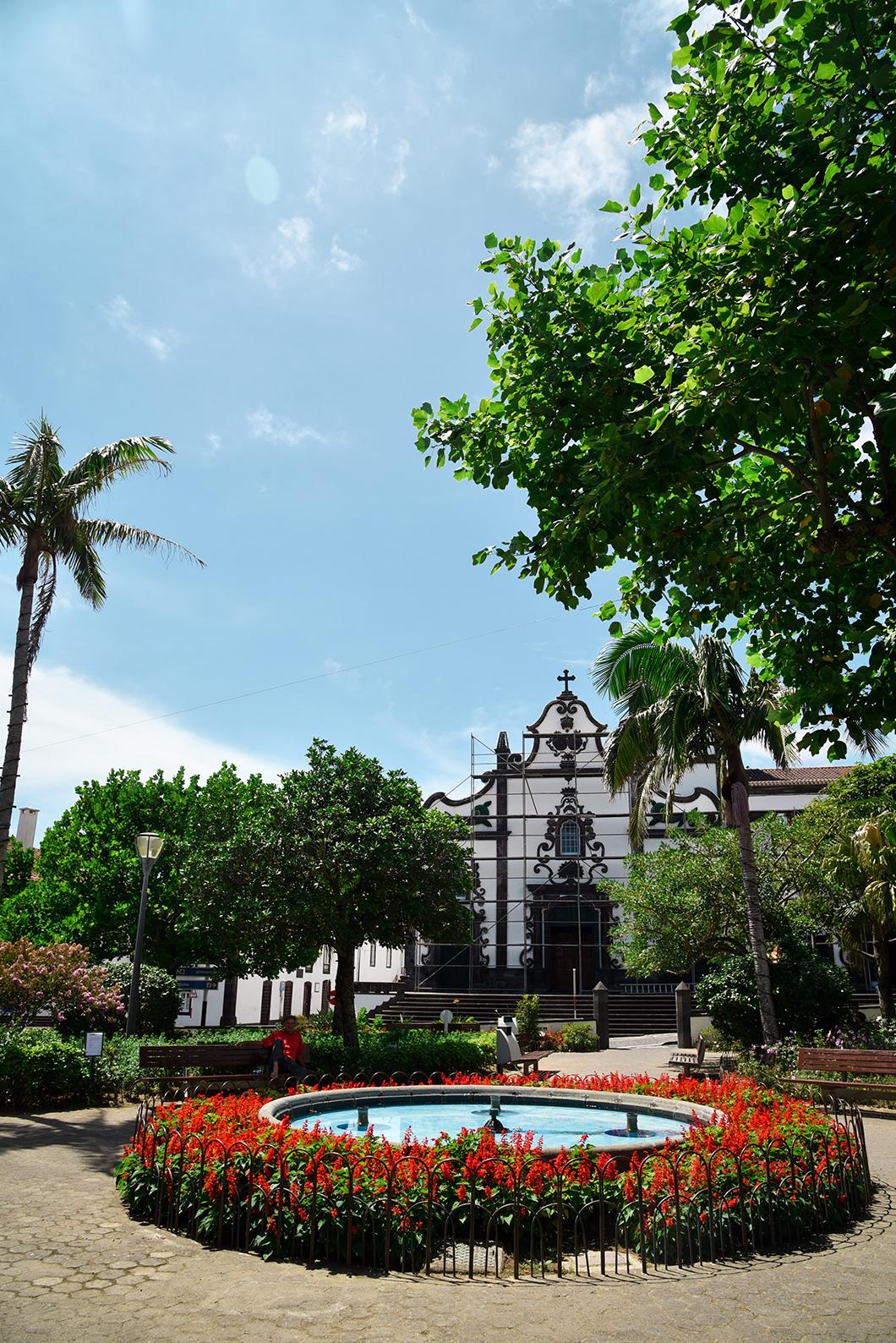 Découverte de la ville de Vila Franca do Campo sur l'île de Sao Miguel