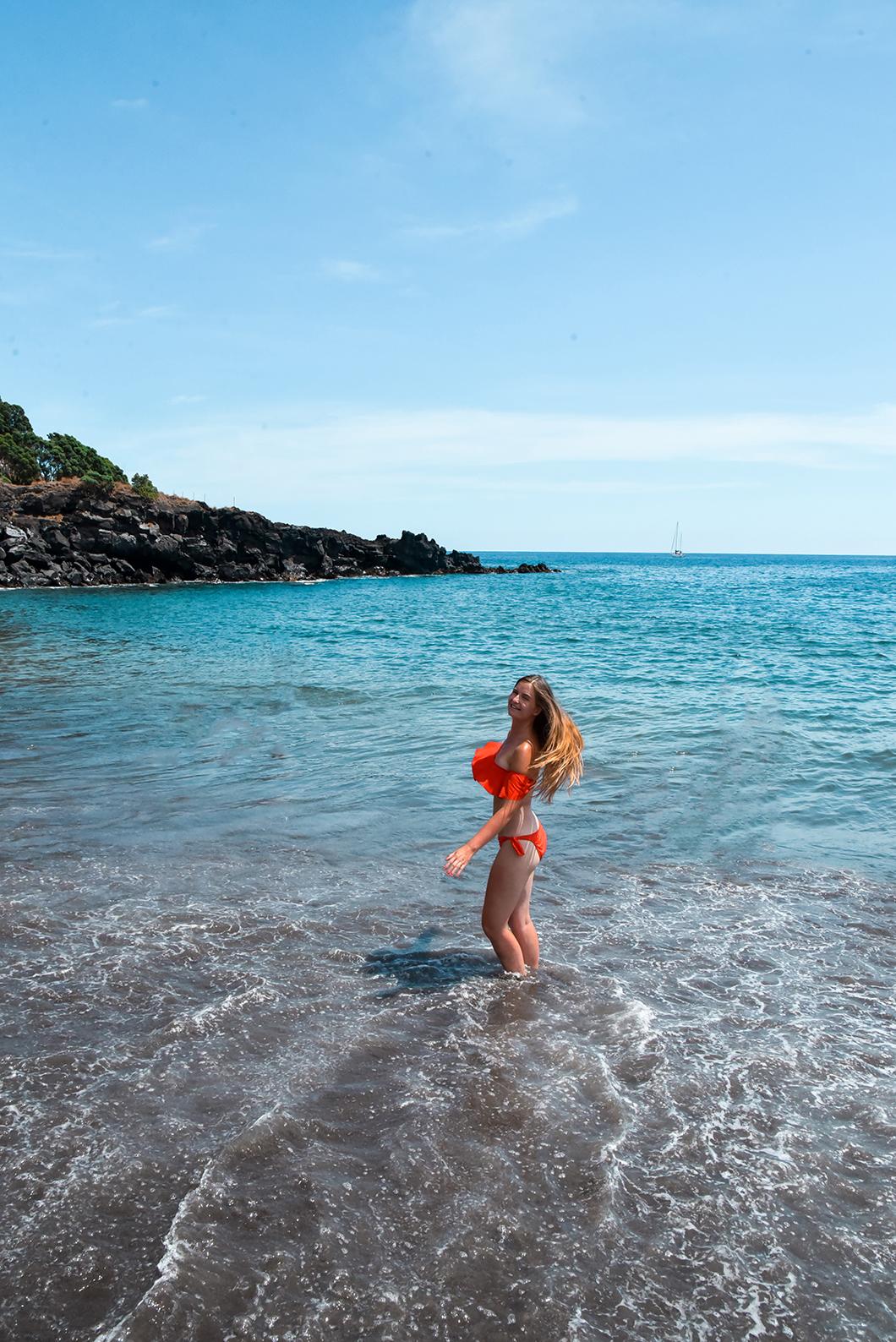 Se baigner sur les plages de Vila Franca do Campo