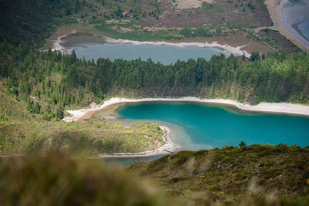 Aller voir le plus beau lac de Sao Miguel, le Lagoa do Fogo
