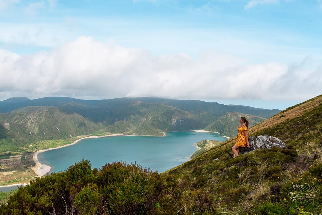 Le Lagoa do Fogo, plus beau point de vue de l'île de Sao Miguel dans les Açores
