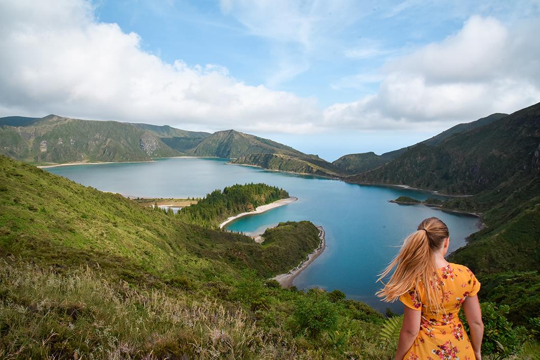 Se balader au Lagoa do Fogo, activité incontournable dans les Açores