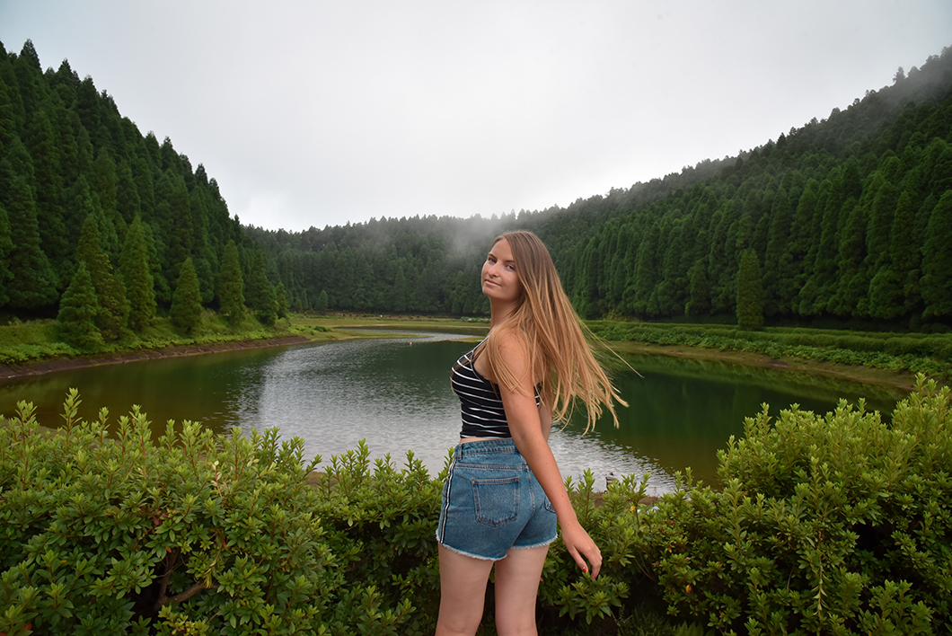 Top des points de vue dans les Açores, les lacs de lagoa das Empadadas, lagoa Rasa et Lagoa de Eguas