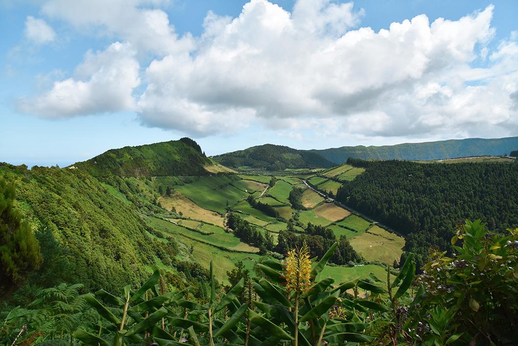 Le volcan Sete Cidades, incontournable dans les Açores