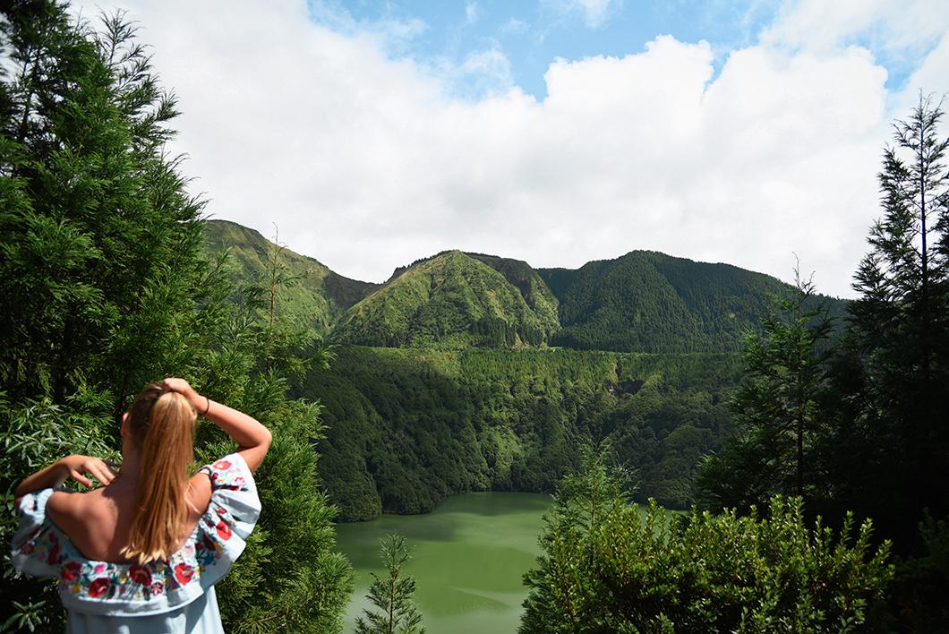 Top des points de vue dans les Açores, le Lagoa do Canario