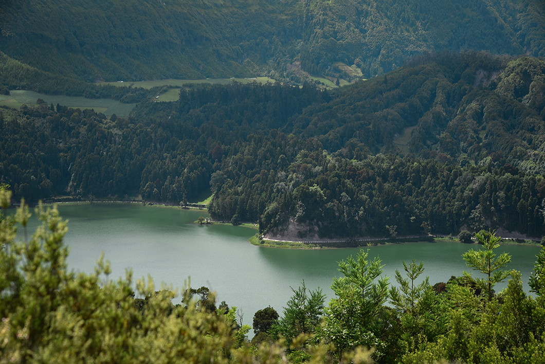 L'île de Sao Miguel et ses jolis lacs