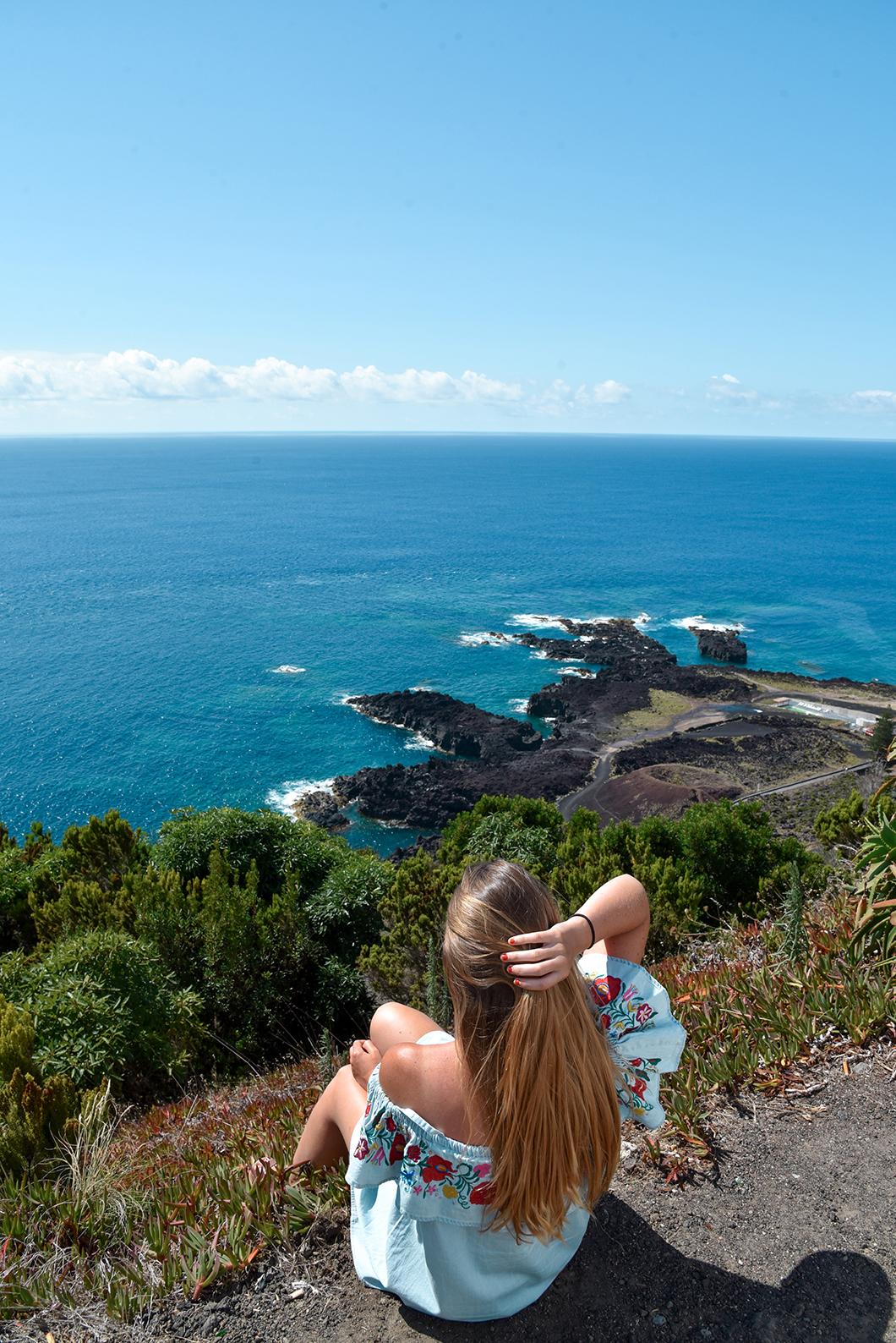 L'île Sabrina à Sao Miguel dans les Açores