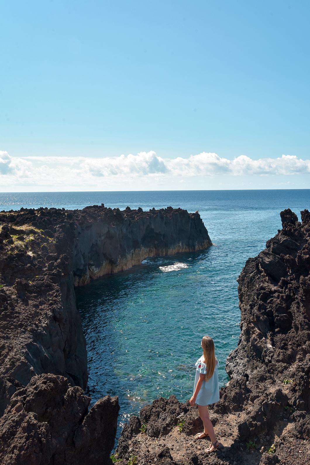 Que faire sur l'île de Sao Miguel ? Baignade dans les piscines naturelles de Ferraria