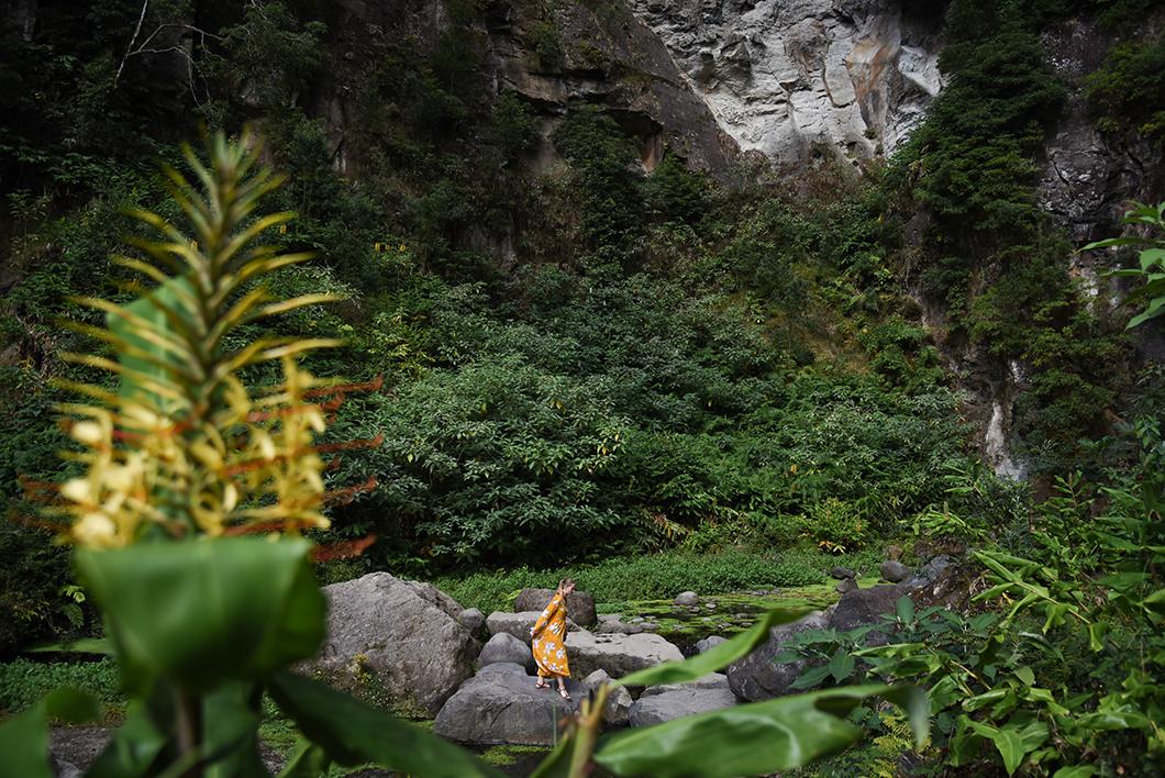 Se baigner dans la cascade Salto do Cabrito