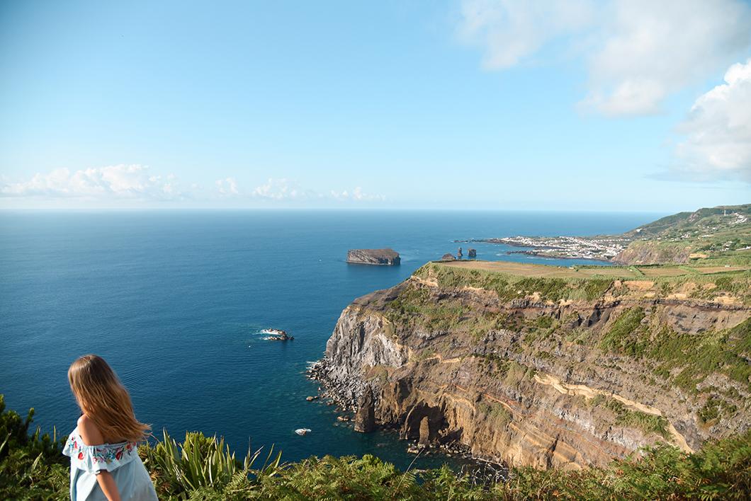 Point de vue sur l'île Sabrina