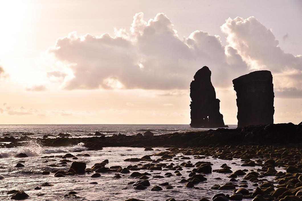 Où aller voir le coucher de soleil à Sao Miguel dans les Açores ? A Mosteiros