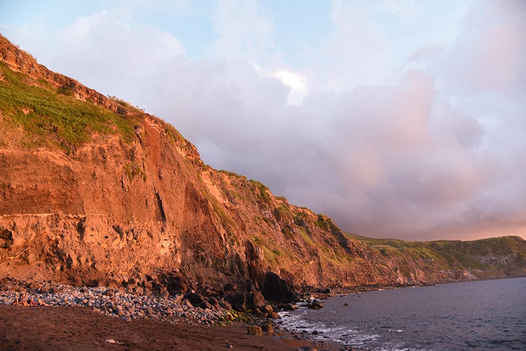 Assister au coucher de soleil à Mosteiros