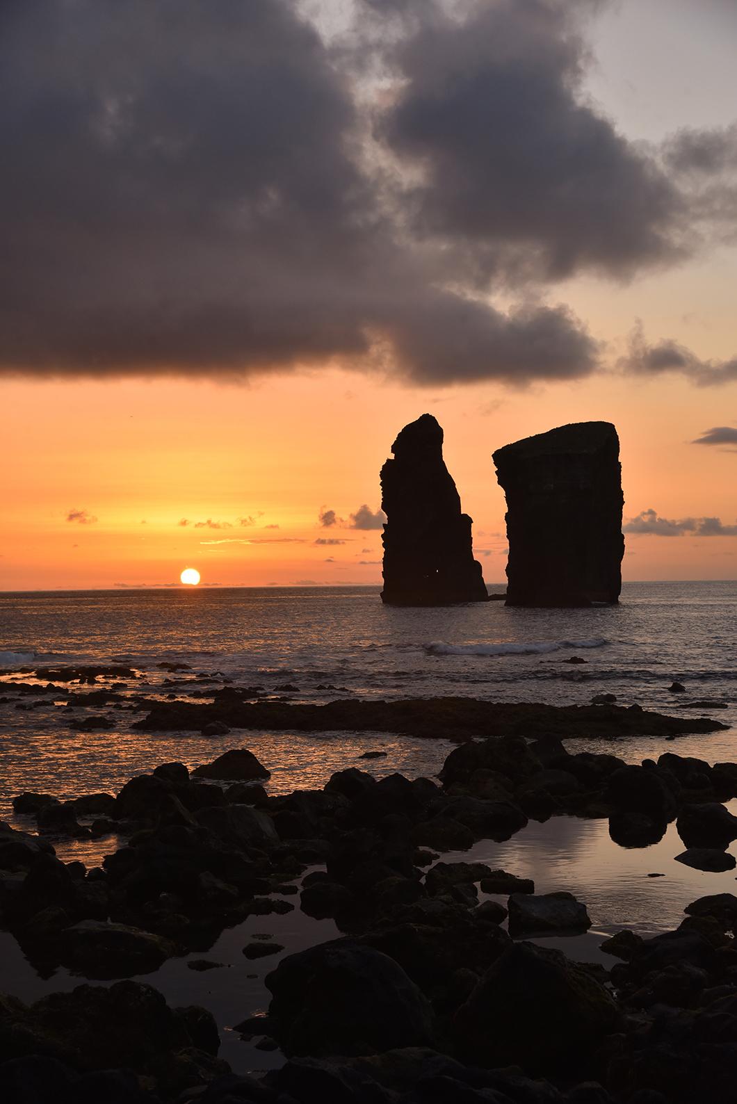 Mosteiros, les plus beaux couchers de soleil de Sao Miguel