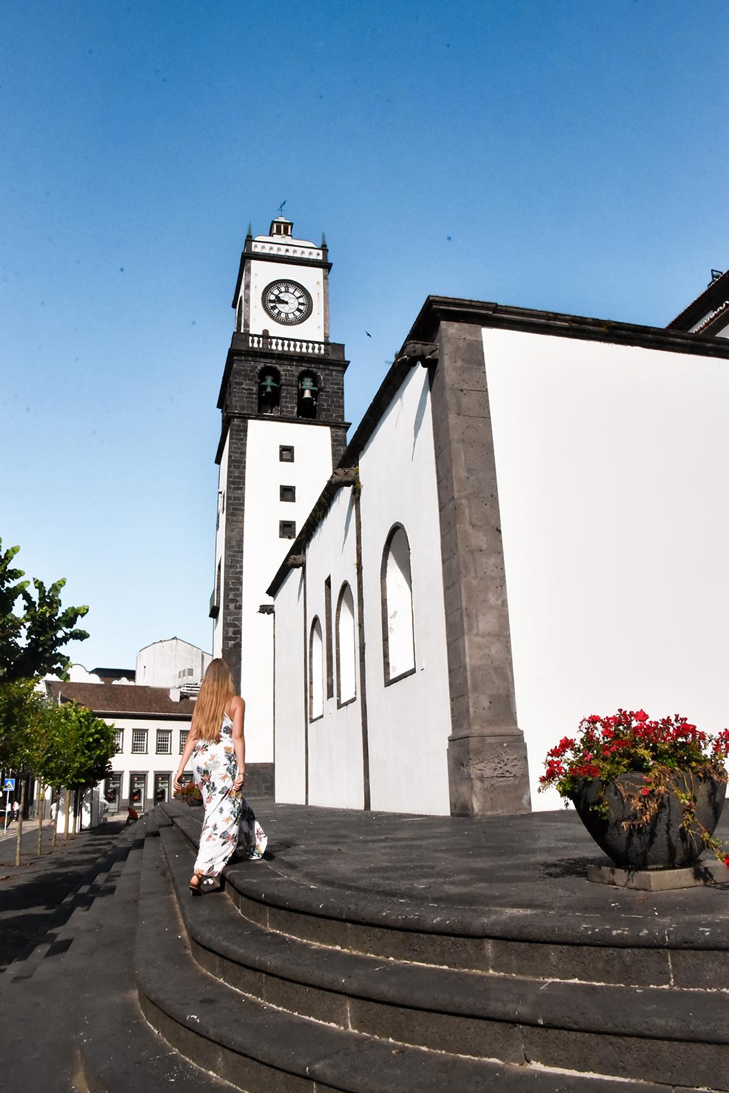 L'église de São Sebastião de Ponta Delgada