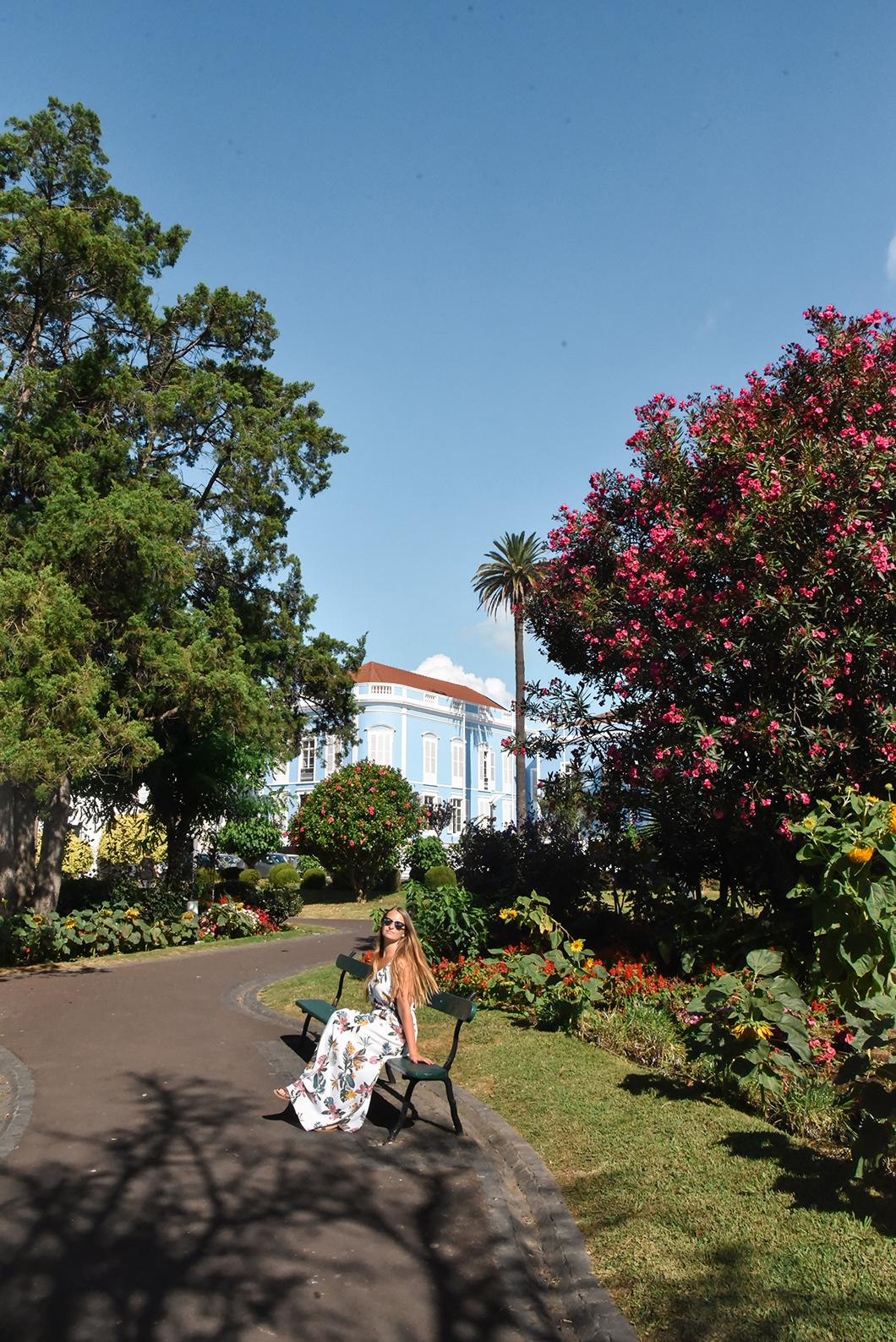 Balade à Ponta Delgada sur l'île de Sao Miguel
