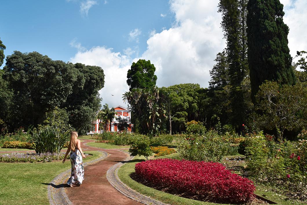 Palácio de Sant'Ana, plus beau parc de Ponta Delgada