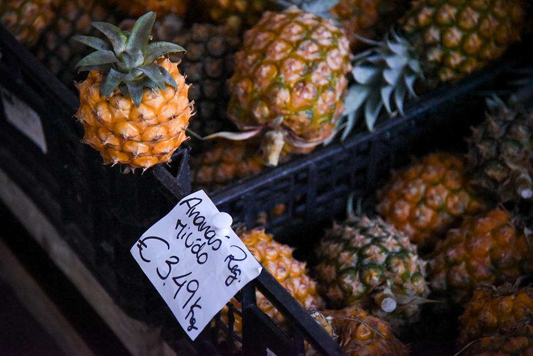 Ananas au Mercado da Graça