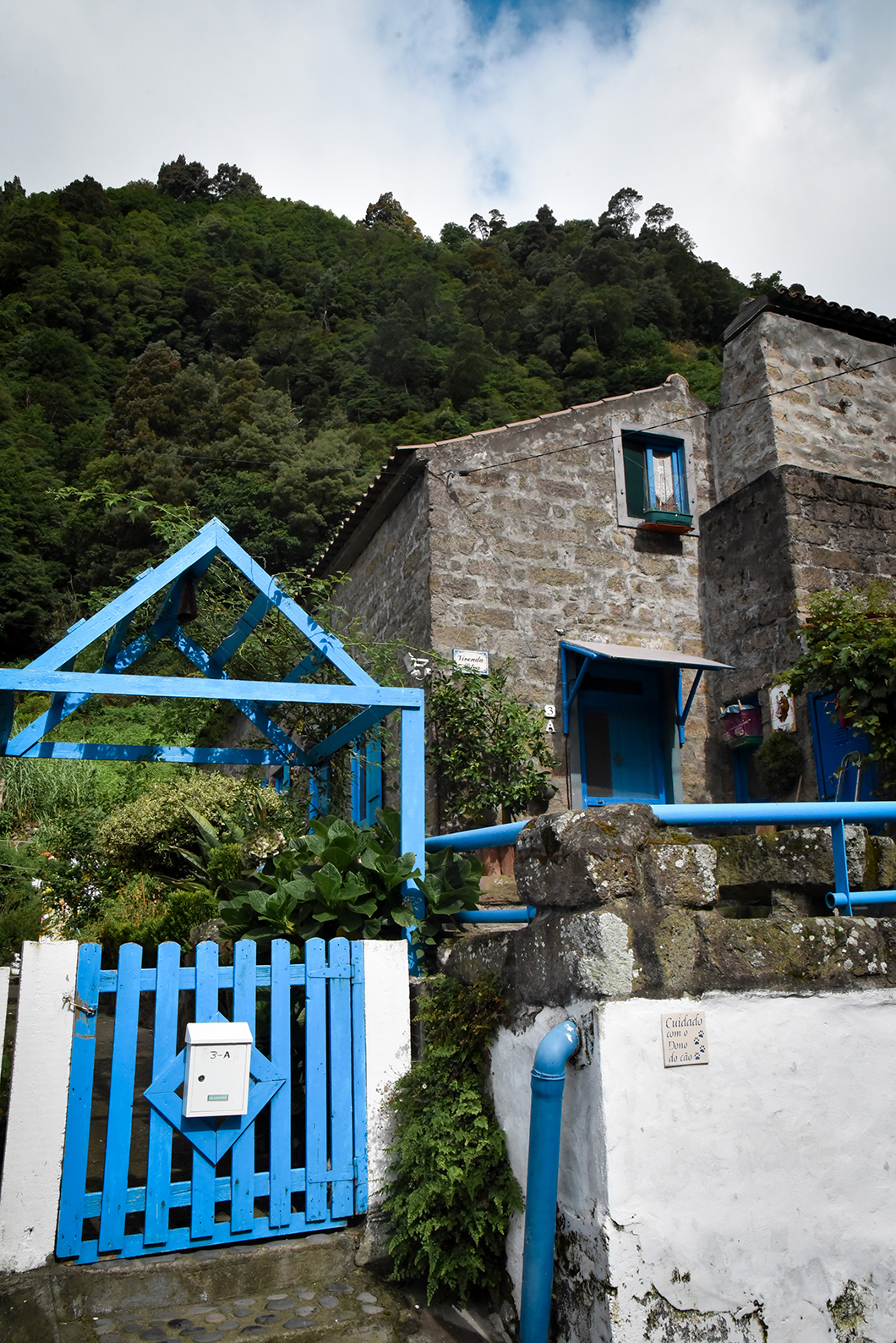 Faire une randonnée dans les cascades de l'île de Sao Miguel