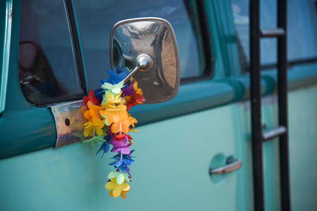 Exposition de vans à Splach Soulac-sur-Mer