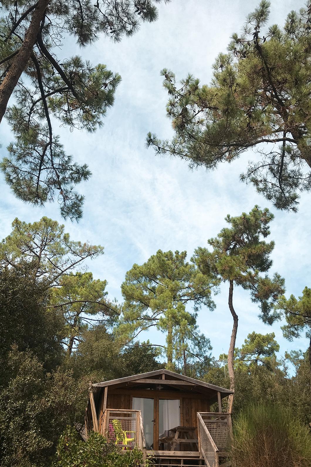 Le Camping des Pins, camping à Soulac-sur-Mer