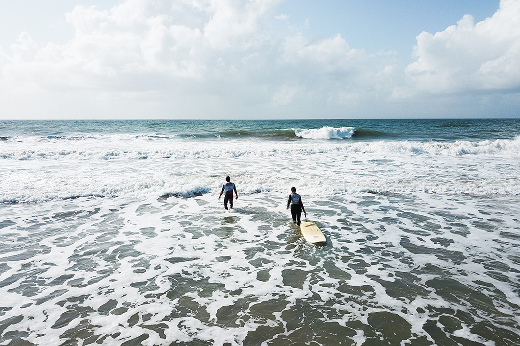 Cours de surf à la Soulac Surf School