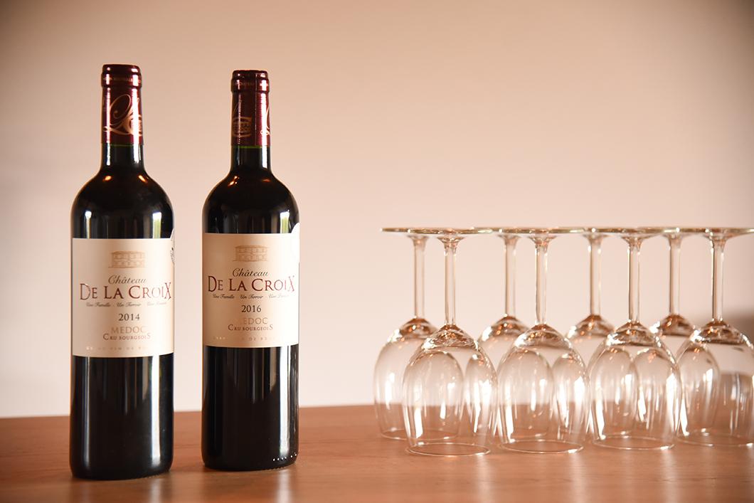 Dégustation de vins du Médoc