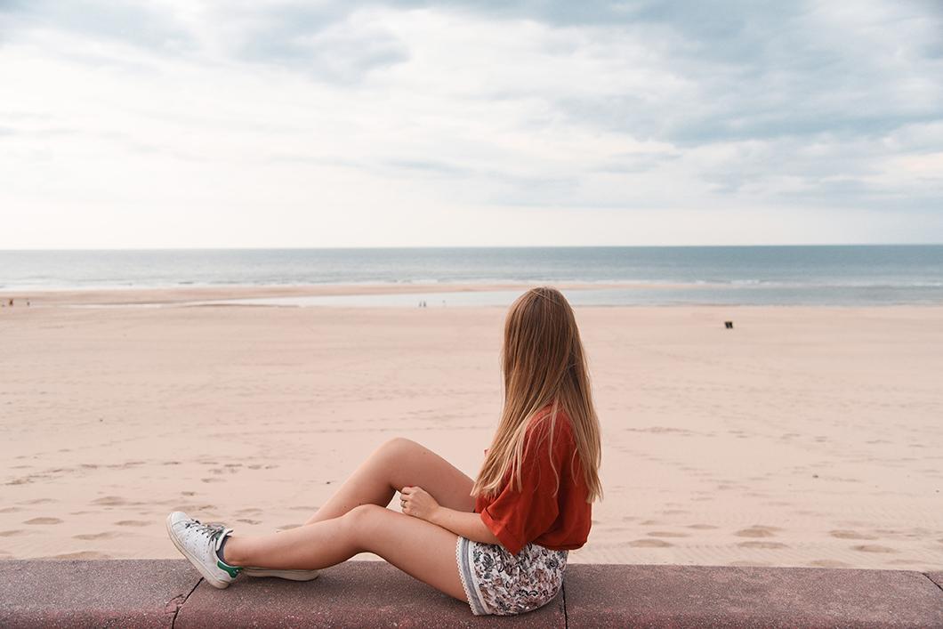 La plage de Soulac-sur-Mer