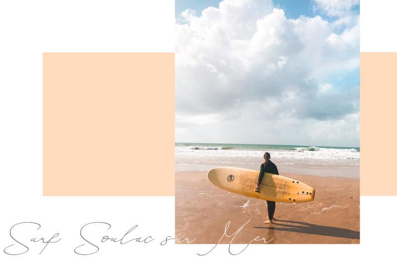 Surfer à Soulac-sur-Mer