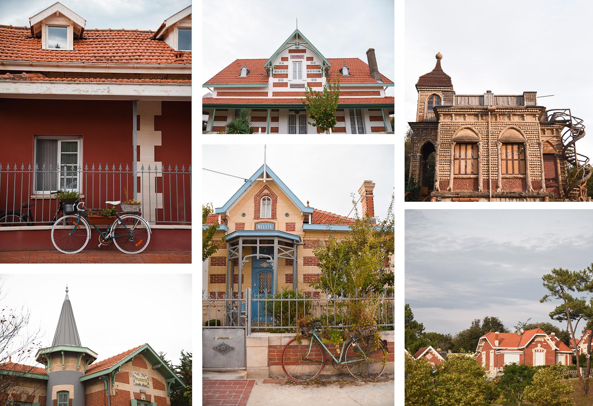 Les jolies maisons de Soulac-sur-Mer