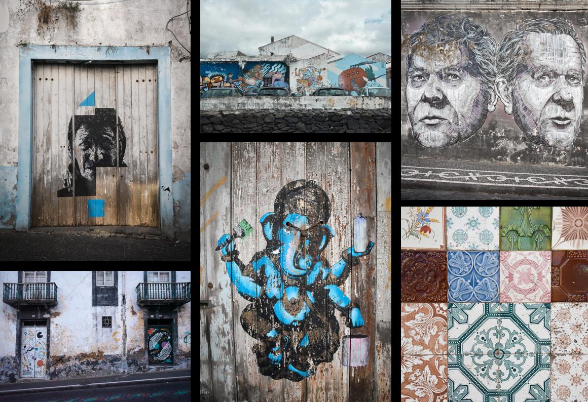 Street art tour à Ponta Delgada
